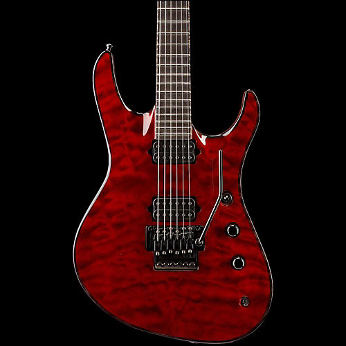 Jackson Jackson Chris Broderick Soloist electric guitar Transparent Red Ebony Fingerboard