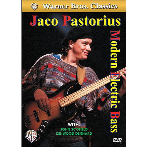 Alfred Jaco Pastorius - Modern Electric Bass DVD-thumbnail