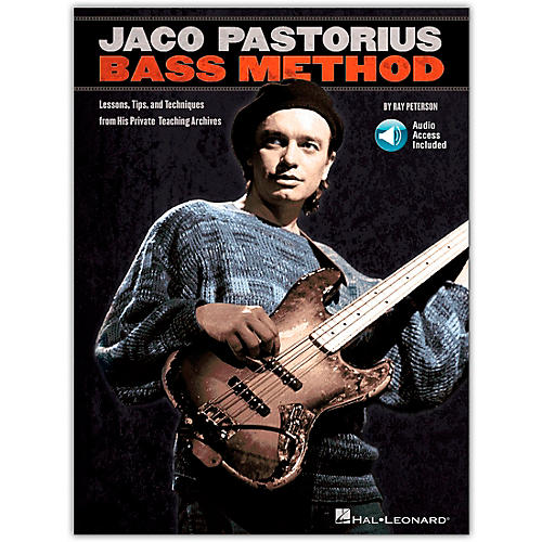 Hal Leonard Jaco Pastorius Bass Method - Book/CD