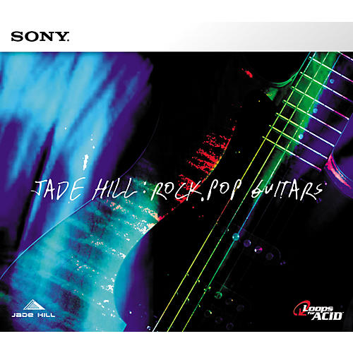 Sony Jade Hill: Rock/Pop Guitars Acid Loop CD-thumbnail