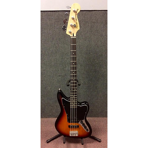 Squier Jaguar Bass Electric Bass Guitar 3 Tone Sunburst