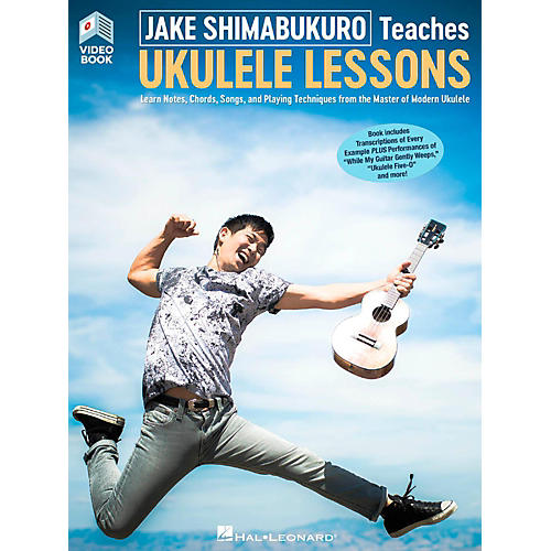 Hal Leonard Jake Shimabukuro Teaches Ukulele Lessons (Video/Book)-thumbnail