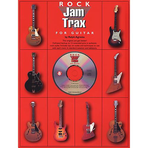 Music Sales Jam Trax Rock for Guitar (CD)-thumbnail