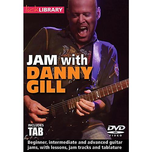 Hal Leonard Jam With Danny Gill - Lick Library DVD-thumbnail