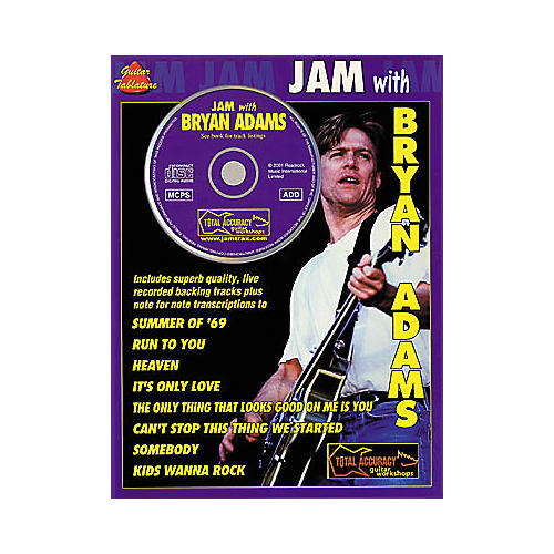 Hal Leonard Jam with Bryan Adams (Book/CD)