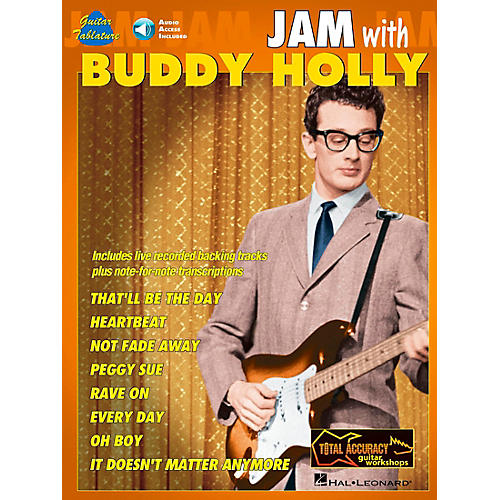 Hal Leonard Jam with Buddy Holly Book with CD-thumbnail