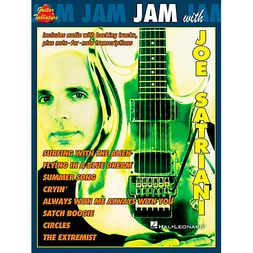 Cherry Lane Jam with Joe Satriani Book with CD