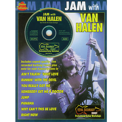 Alfred Jam with Van Halen-Book/CD