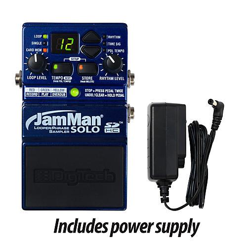 Digitech JamMan Solo Looper Guitar Effects Pedal