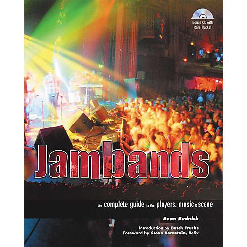 Backbeat Books Jambands (Book/CD)