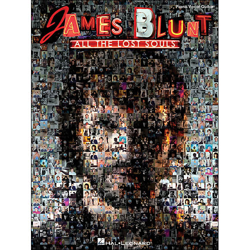 Hal Leonard James Blunt All The Lost Souls arranged for piano, vocal, and guitar (P/V/G)-thumbnail