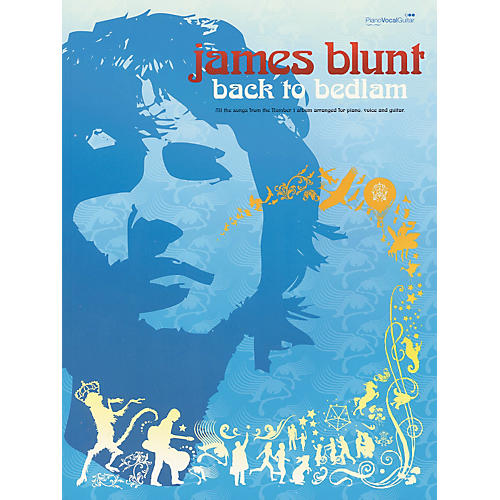 Hal Leonard James Blunt- Back to Bedlam Piano, Vocal, Guitar Songbook-thumbnail