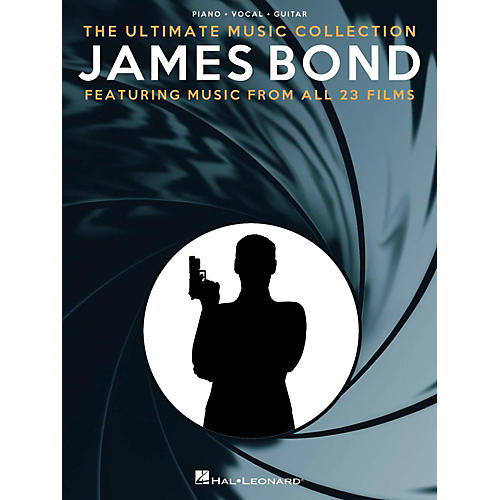 Music Sales James Bond - The Ultimate Music Collection Piano/Vocal/Guitar Songbook-thumbnail