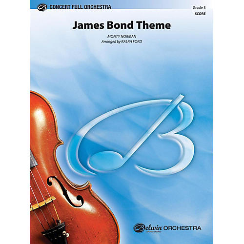 Alfred James Bond Theme Full Orchestra Grade 3-thumbnail