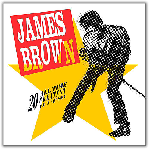 Universal Music Group James Brown - 20 All-Time Greatest Hits Vinyl LP-thumbnail