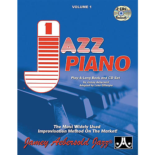 Jamey Aebersold Jamey Aebersold Jazz, Volume 1: Jazz Piano Book & 2 CDs-thumbnail