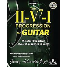 Jamey Aebersold Jamey Aebersold Jazz, Volume 3: The ii-V7-I Progression for Guitar Book & 2 CDs