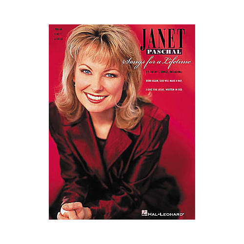 Hal Leonard Janet Paschal - Songs for a Lifetime Piano/Vocal/Guitar Artist Songbook-thumbnail