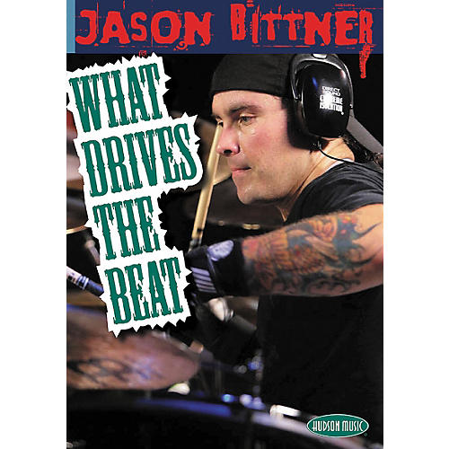 Hal Leonard Jason Bittner - What Drives the Beat (DVD)-thumbnail