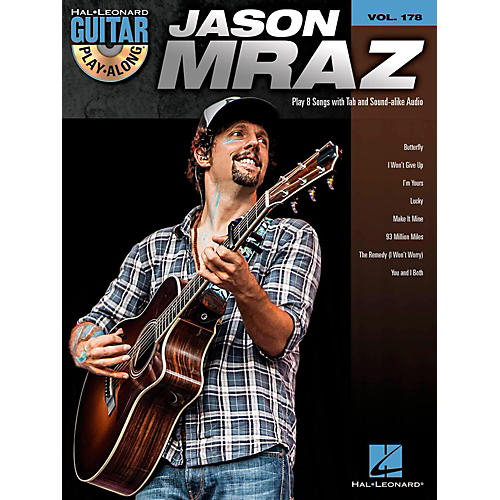 Hal Leonard Jason Mraz - Guitar Play-Along Volume 178 (Book/CD)-thumbnail