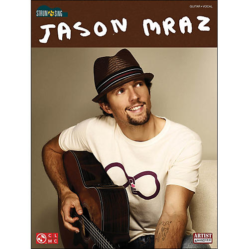 Cherry Lane Jason Mraz Easy Guitar Songbook Strum And Sing Series-thumbnail