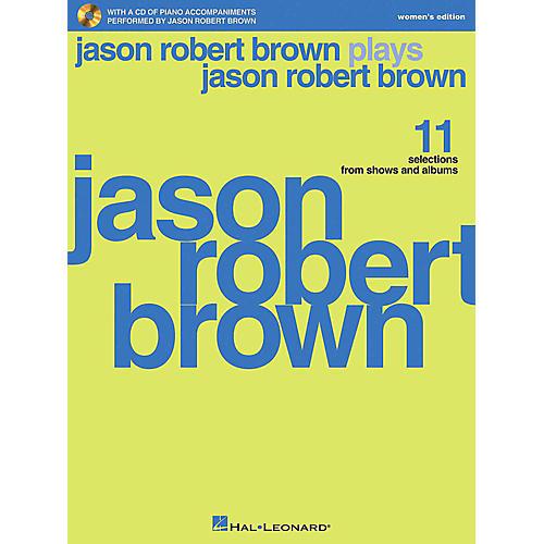 Hal Leonard Jason Robert Brown Plays Jason Robert Brown - Women's Edition Book/CD-thumbnail