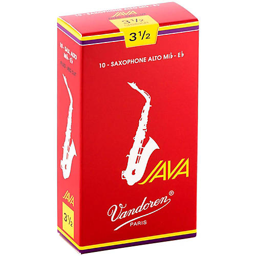 Vandoren Java Red Alto Saxophone Reeds-thumbnail