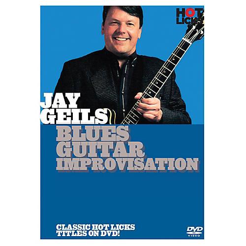 Music Sales Jay Geils - Blues Guitar Improvisation Music Sales America Series DVD Written by Jay Geils