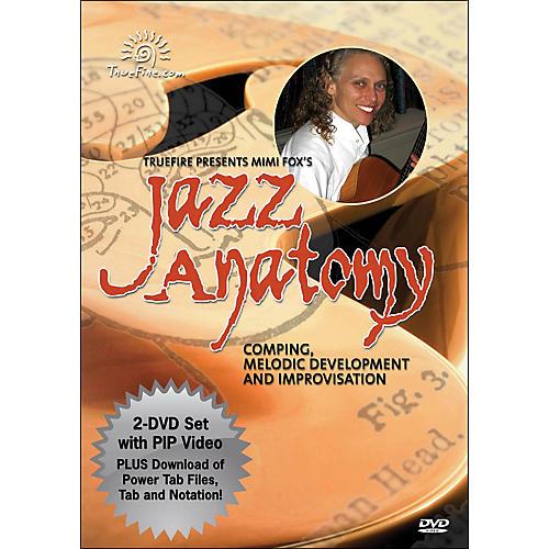 Hal Leonard Jazz Anatomy - Instructional Guitar 2-DVD Pack Featuring Mimi Fox-thumbnail