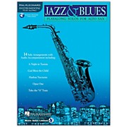 Hal Leonard Jazz And Blues Playalong Solos for Alto Sax Book/CD