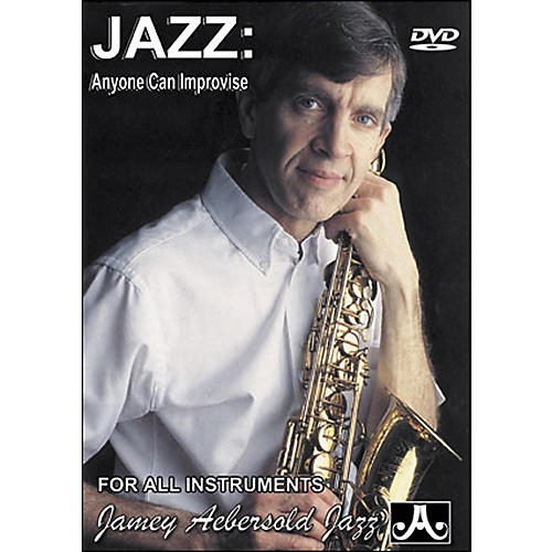 Jamey Aebersold Jazz: Anyone Can Improvise DVD-thumbnail