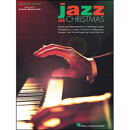 Hal Leonard Jazz At Christmas arranged for piano solo-thumbnail