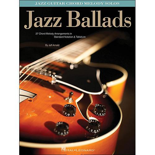 Hal Leonard Jazz Ballads - Jazz Guitar Chord Melody Solos-thumbnail