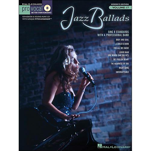 Hal Leonard Jazz Ballads - Pro Vocal Songbook & CD for Female Singers Volume 17