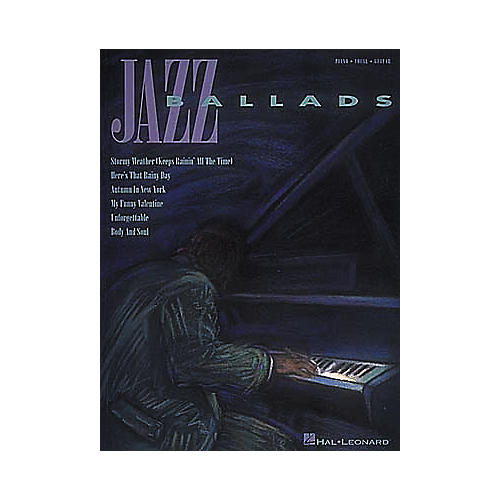 Hal Leonard Jazz Ballads Piano, Vocal, Guitar Songbook-thumbnail