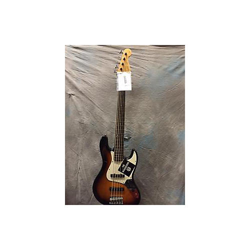 Squier Jazz Bass 5 String Electric Bass Guitar-thumbnail