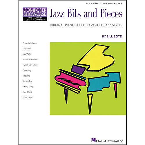 Hal Leonard Jazz Bits And Pieces Early Intermediate Piano Solos Composer Showcase Hal Leonard Student Piano Library by Bill Boyd-thumbnail