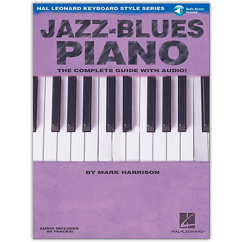 Hal Leonard Jazz-Blues Piano: The Complete Guide (Book/Online Audio)-thumbnail