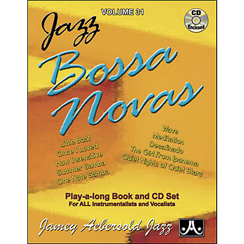 Jamey Aebersold Jazz Bossa Nova Play-Along Book with CD-thumbnail
