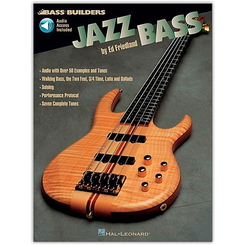 Hal Leonard Jazz Builders Jazz Bass (Book/Online Audio)