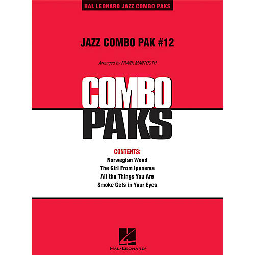 Hal Leonard Jazz Combo Pak #12 (with audio download) Jazz Band Level 3 Arranged by Frank Mantooth