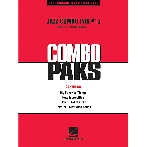 Hal Leonard Jazz Combo Pak #15 (with audio download) Jazz Band Level 3 Arranged by Frank Mantooth