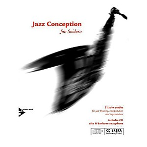 ADVANCE MUSIC Jazz Conception: Alto and Baritone Saxophone Book and MP3 CD Eng...