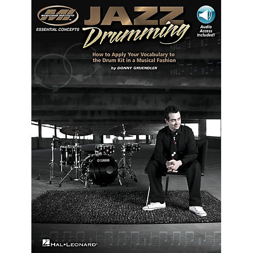 Hal Leonard Jazz Drumming - How to Apply Your Vocabulary the Drum Kit in a Musical Fashion (Book/Online Audio)-thumbnail