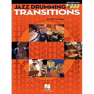 Hal Leonard Jazz Drumming Transitions Drum Instruction Series Softcover wit...