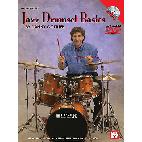 Mel Bay Jazz Drumset Basics DVD and Chart-thumbnail