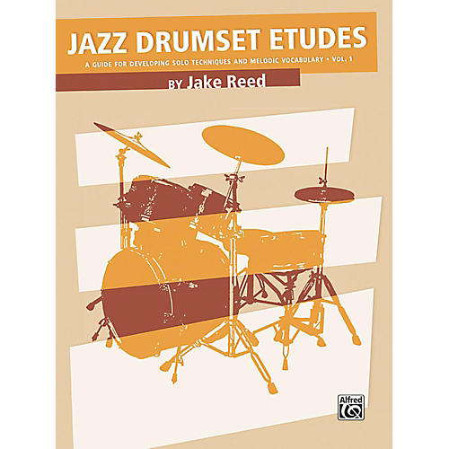 Alfred Jazz Drumset Etudes Developing Solo Techniques and Melodic Vocabulary Vol. 1 Book-thumbnail