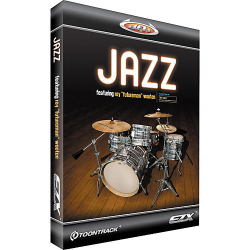 Toontrack Jazz EZX Expansion Pack for EZdrummer Sample Library