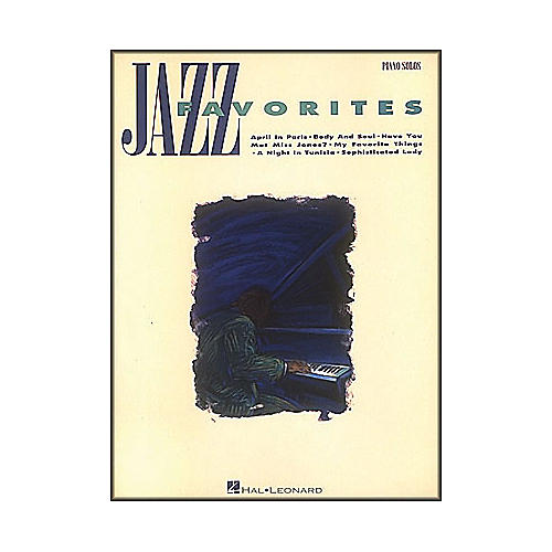 Hal Leonard Jazz Favorites arranged for piano solo-thumbnail
