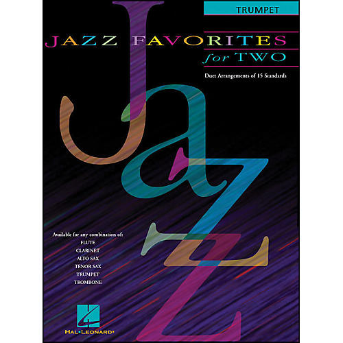 Hal Leonard Jazz Favorites for Two for Trumpet-thumbnail